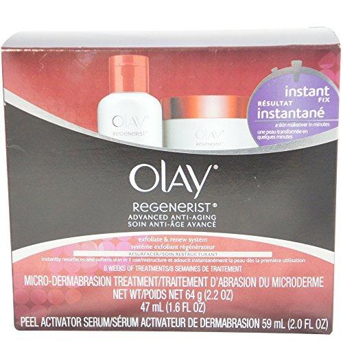OLAY Regenerist Microdermabrasion and Peel Kit (2 Pack)