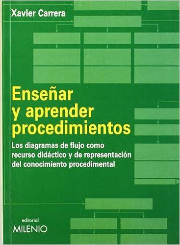 Enseñar y aprender procedimientos: Los diagramas de flujo como recurso didáctico y de representación del conocimiento procedimental Educación: Amazon.es: ...