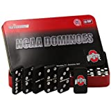 NCAA Ohio State Buckeyes Domino Set in Metal Gift Tin