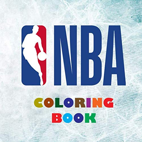 NBA Coloring Book: Super book containing every team logo from the NBA for you to color in - Original birthday present / gift idea.