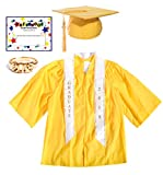 Gold Deluxe Matte Preschool Graduation Set - Medium, 7-Piece Set