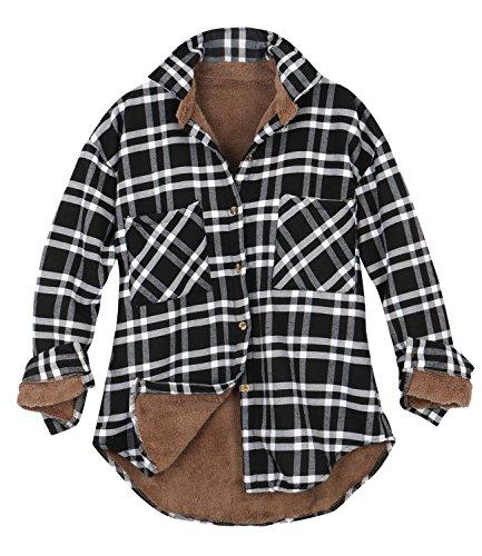 Flannel Womens Jacket - 6