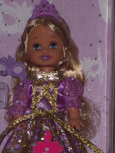 Barbie Sister Kelly Doll Purple Dress Princess