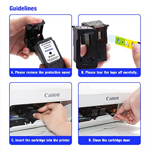 Remanufactured Ink Cartridge Replacement For PG 245XL 245 XL (Single Black) With Ink Level Indicator Used In Canon PIXMA iP2820 MG2420 MG2520 2920 MG2922 MG2924 MX492 MX490 Printer Photo #3