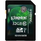 Kingston 32GB Class 10 SD SDHC Memory Card For Canon Powershot SX510 HS Camera