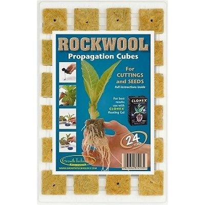 Growth Technology 4cm Rockwool - 24 Tray