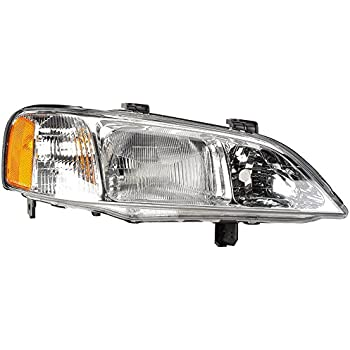 amazon com left side headlight assembly for dodge intrepid 1995 2005 dodge intrepid right side headlight assembly for acura tl 1999 2000 2001 buyautoparts 16 00344an new