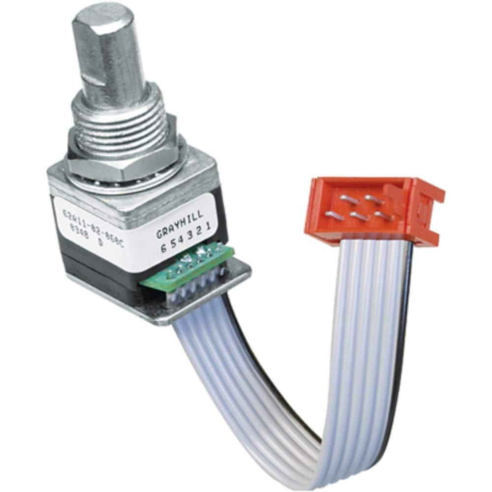 5V dc Optical Encoder with a 6.32 mm Flat Shaft; Pin