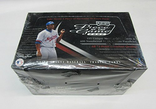 2002 Playoff Game - 2002 Playoff Piece of the Game Baseball Box (Hobby)