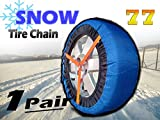 HZYICH 2pcs Anti-Skid Safety Ice Mud Tires Snow