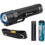 Bundle:Olight S2 Baton Variable-Output Side-Switch LED Flashlight Cree XM-L2 LED 950 Lumens With 18650 Battery And XTAR MC1 Battery Charger With SKYBEN Holster