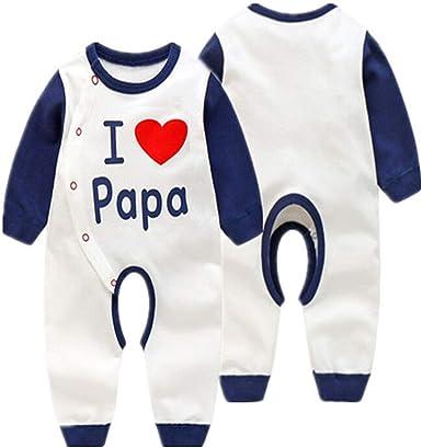 Bebé Mameluco Recién Nacido Pijamas Niños Niñas Pelele Bebés ...