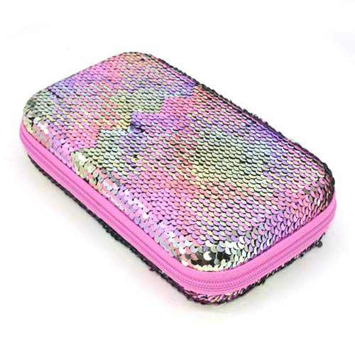 Pencil case - Sequin pencil case EVA estuche escolar Colorful school ...