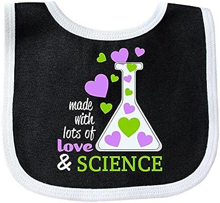 I Love Science heart Baby Bib