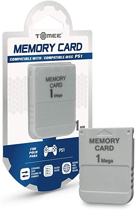 Amazon.com: Tomee 1MB Memory Card for PS1: Video Games