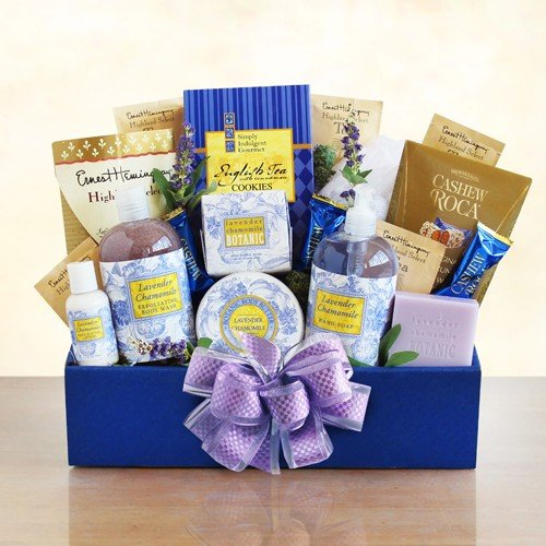 Soothing Lavender Spa Care Package for Women