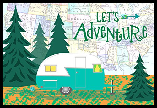 Let's Adventure Glamping Doorma made our list of DIY Glam Camping Ideas And Tips And Cute Glamping Accessories For Do It Yourself RV And Tent Glamping, Glamping Gifts, Fun Gear And Gifts For Glampers, Awesome Decor, Furniture, Lights, Decorations, Camping Hacks And Products To Add To Your DIY Glamping Kitt