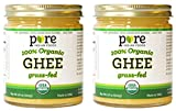 Grassfed Organic Ghee 7.8 Oz - Pure Indian Foods Brand (2-Pack) by Pure Indian Foods