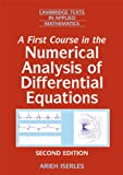 A First Course in the Numerical Analysis of Differential Equations South Asian Edition, Iserles, A., 0521170095