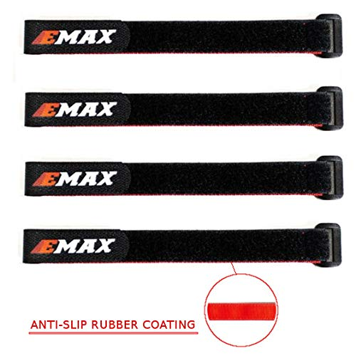 (EMAX LiPo Battery Strap Set of 4-10