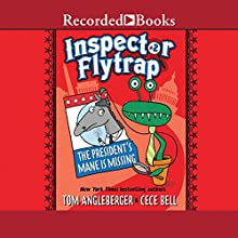 Inspector Flytrap in the President's Mane Is Missing Audiobook by Tom Angleberger Narrated by Mark Turetsky