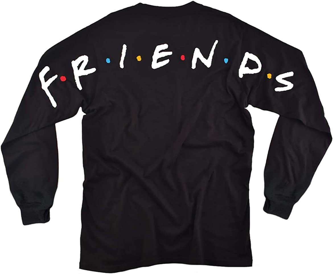 Friends Have Your Back Adult Sweatshirt, Front/Back Print: Clothing