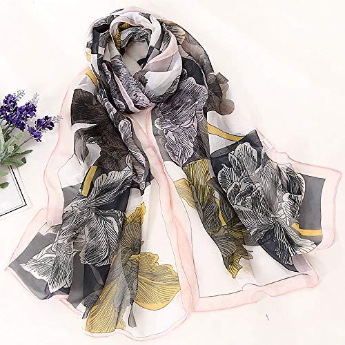 Châle Léger Longue Echarpe Aimee7 Imprimé Foulards Chic Élégant Femmes Mince F Écharpe 88gzFq14