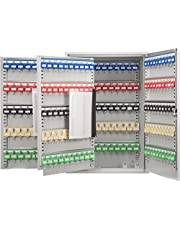 Barska 300 Position Key Cabinet with Key Lock, Grey