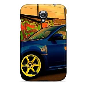 For Galaxy S4 Premium Tpu Case Cover Subaru Protective Case