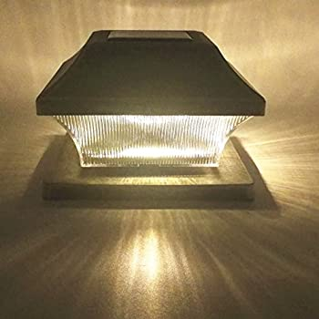 Amazon.com : Solar Light, Post Cap Lights 4 x 4 Plus