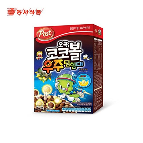 Explorer Post - Dongsuh Post Cereal Coco Ball Space Explorer 270G X 3