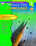 Language Arts Teach and Test 3, Sally Fisk, 0887247709