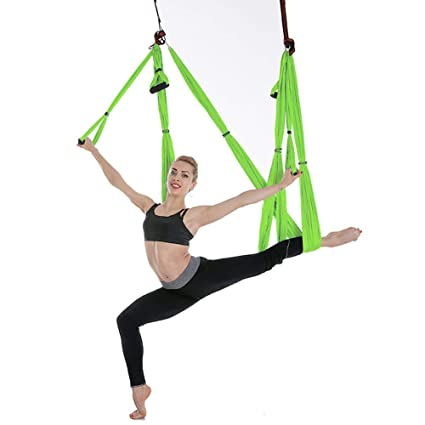Flying Hammock Inversion Swing Aerial Yoga Fitness Excellent Quality In
