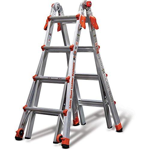 Little Giant Ladder Systems 17 Foot Type IA Aluminum Multi Position LT Ladder