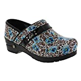 Sanita Women's Koi Tahiti Clogs, Multi Leather, Polyurethane, Rubber, 35 M EU, 5 M