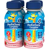 Pediasure Complete Strawberry, 235mL Bottle, 4-Pack