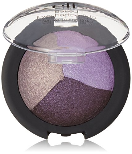 e.l.f. Baked Eyeshadow Trio, Lavender Love, 0.14 Ounce