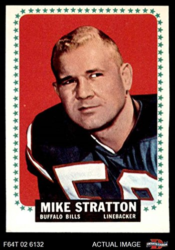 1964 Topps # 39 Mike Stratton Buffalo Bills (Football Card) Dean's Cards 4 - VG/EX (1964 Buffalo Bills)
