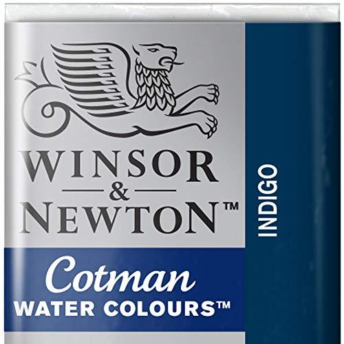 Cotman Winsor & Newton Watercolour Paint Half Pan - Indigo 322