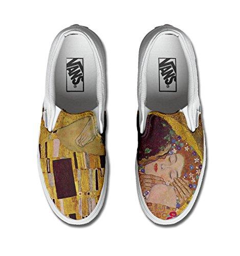 Vans personalizzate Authentic, Sneaker uomo/donna (Prodotto Artigianale) Kimt Kiss