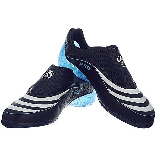Adidas F508 Tunit Leder Upper - 667755 Wit-blauw