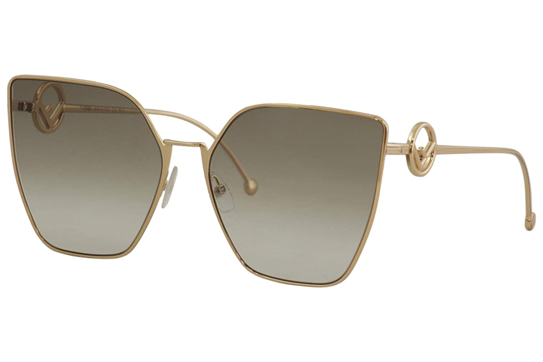 Amazon.com: Fendi FF0323/S DDB Gold/Copper FF0323/S - Gafas ...