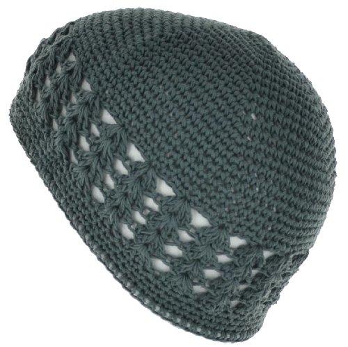 Jual 100% Cotton KUFI Crochet Beanie Skull Cap Knit Hat Brand New ... 8d2819843e0c