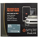 PAC Isimple Ishy531 Automotive Dual Auxiliary Input Kit for Select Hyundai Vehicles