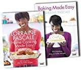 Lorraine Pascales Baking And Home Cooking Made Easy Cookbook Collection Set P