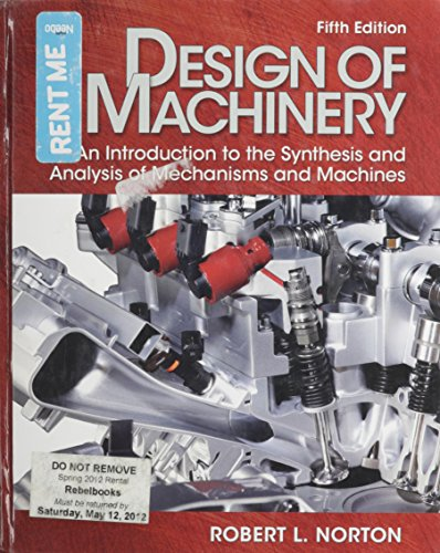 Design Of Machinery Text