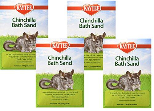 ((4 Pack) Kaytee Chinchilla Bath Sand)