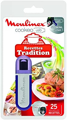 Moulinex XA600211 USB Cookéo 25 Recetas Tradición: Amazon.es: Hogar