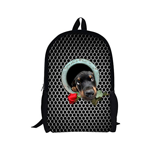 TOREEP Stylish Cute Dog Animal Printed School Backpack Bookbag for - Malls Virginia Beach