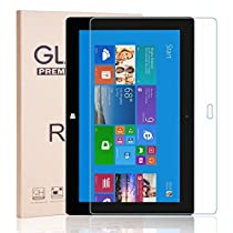 Microsoft Surface Pro 2 Glass Screen Protector, RBEIK Premium Anti-Scratch Tempered Glass Screen Protector for Microsoft Surface Pro 2 10.6 Inch/ Surface Pro 1st/ Surface 2/ Surface RT1/ RT2